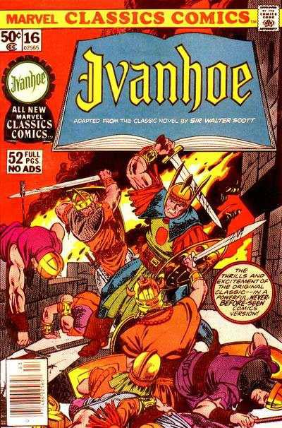 Marvel Classics Comics Series Featuring Ivanhoe Vol 1 1