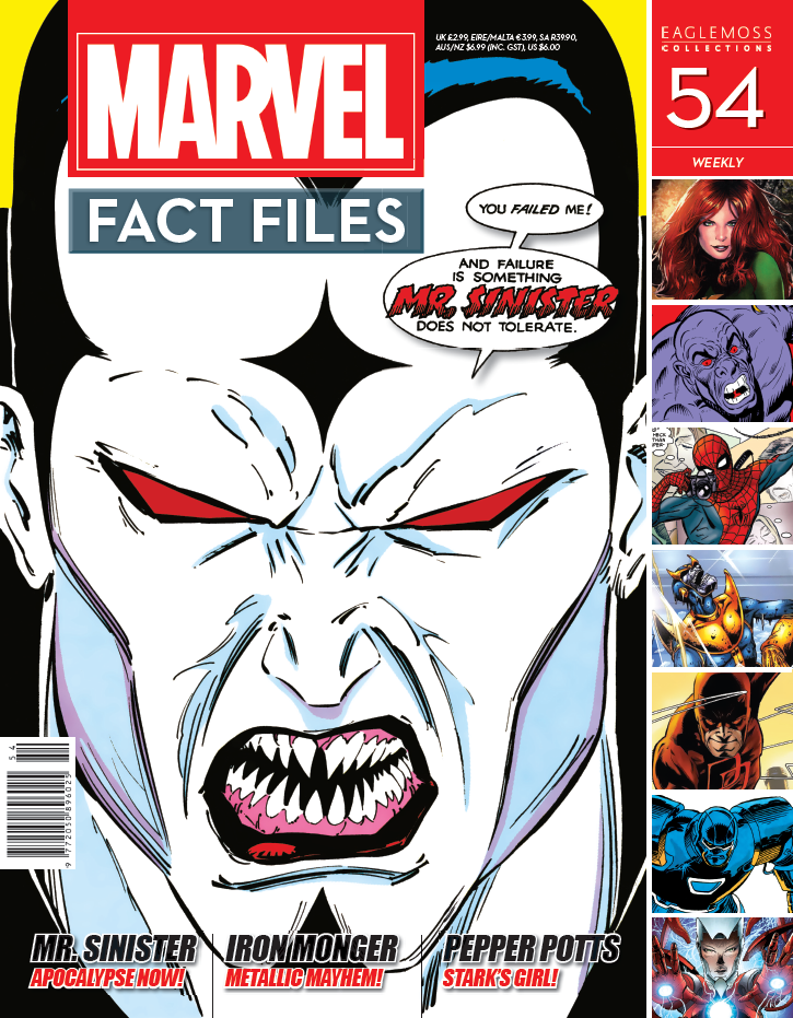 Marvel Fact Files Vol 1 54