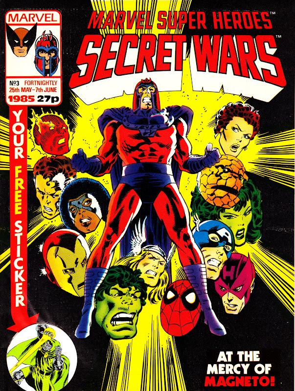 Marvel Super Heroes Secret Wars (UK) Vol 1 3