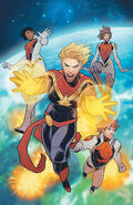 Mighty Captain Marvel Vol 1 8 Textless