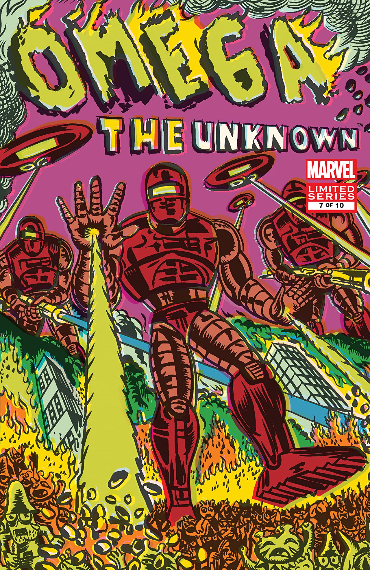 Omega: The Unknown Vol 1 7