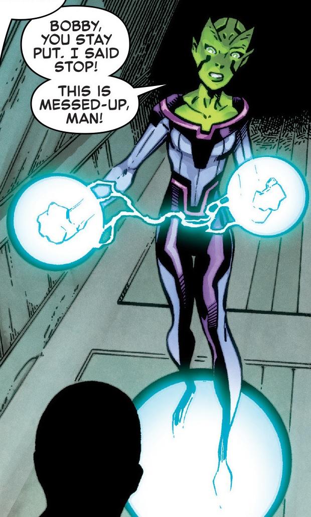 Sasha (Inhuman) (Earth-616)