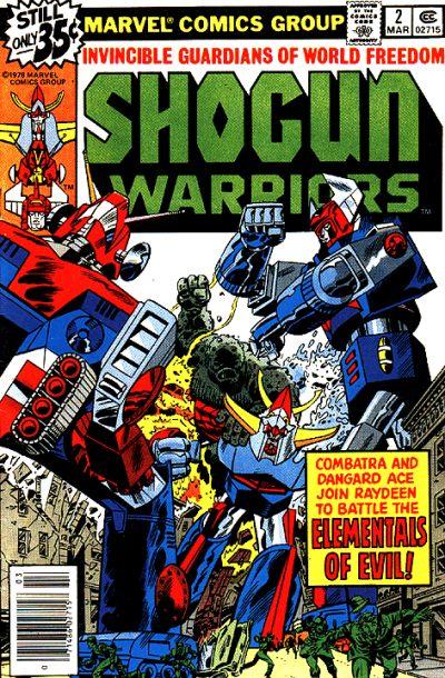 Shogun Warriors Vol 1 2