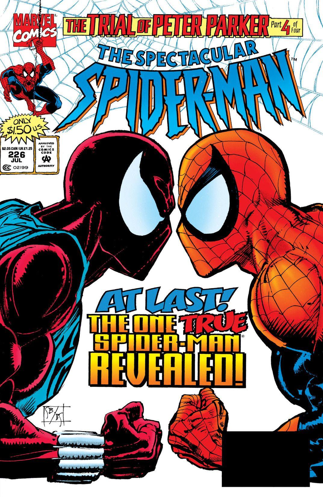 Spectacular Spider-Man Vol 1 226