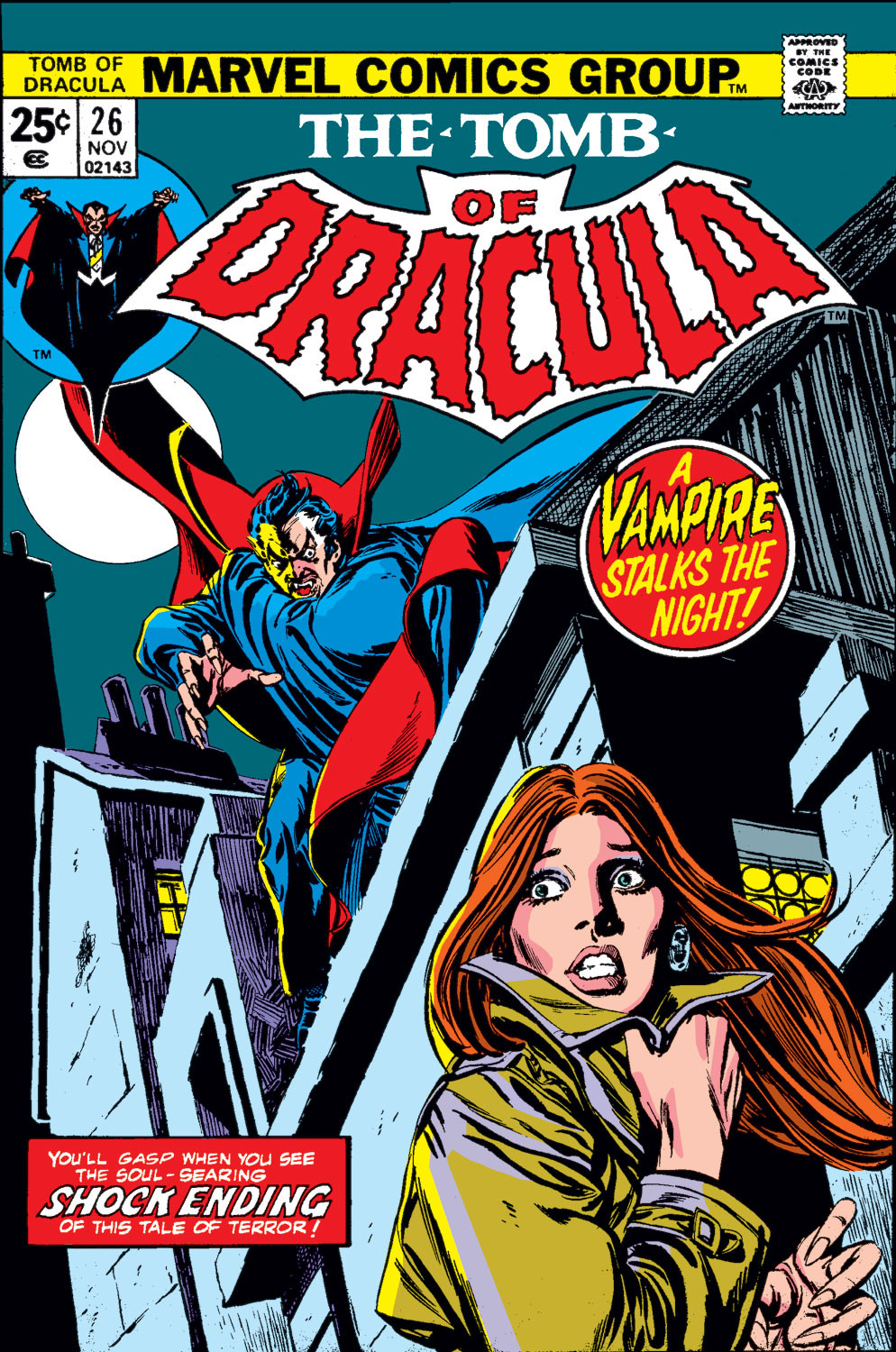 Tomb of Dracula Vol 1 26