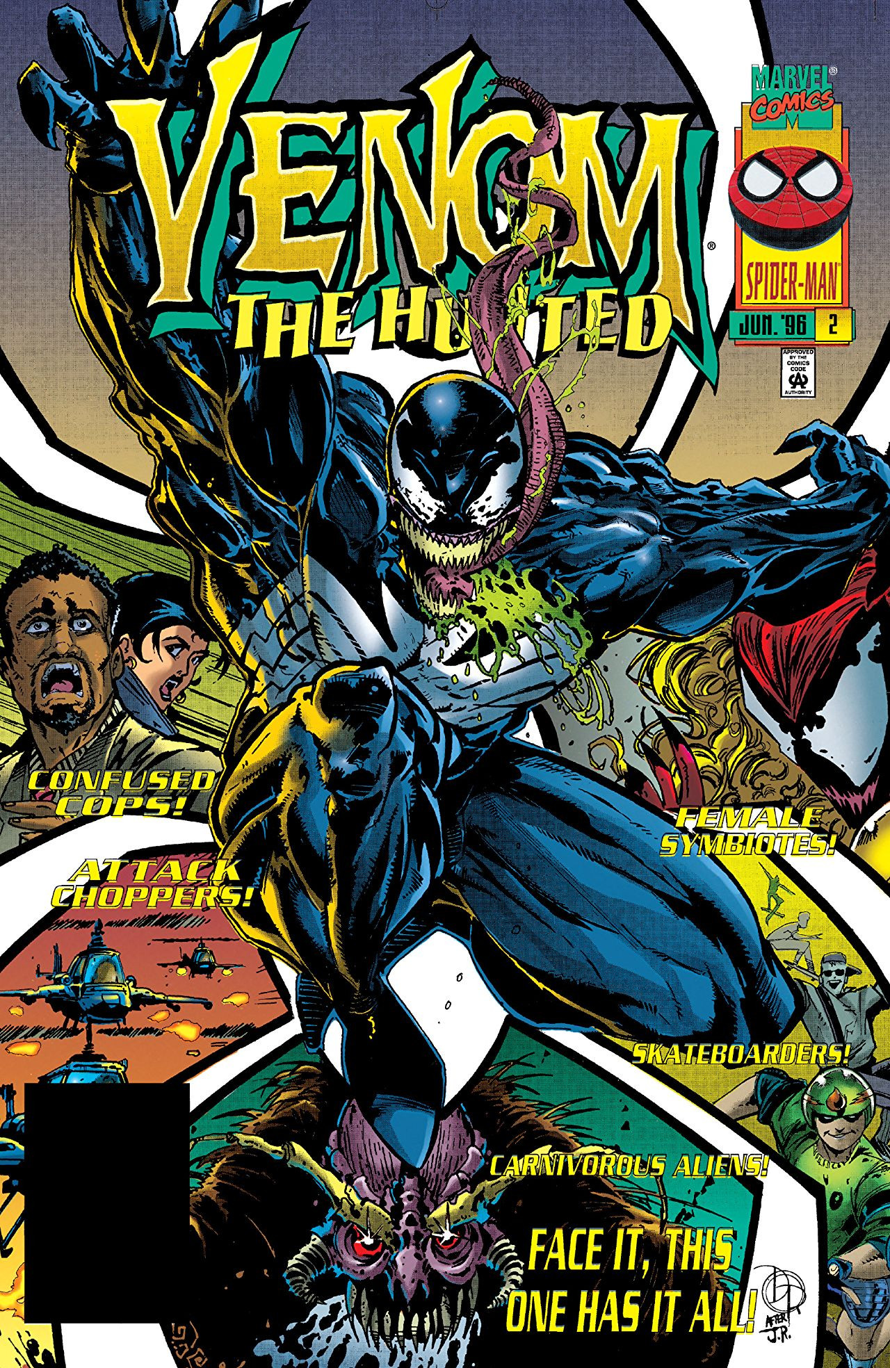 Venom: The Hunted Vol 1 2