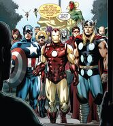 Avengers (Earth-616) from Iron Man Vol 6 9 001