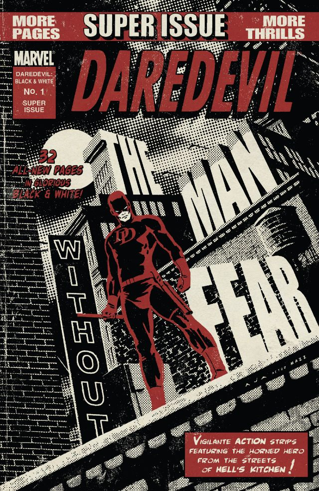 Daredevil: Black and White Vol 1 1
