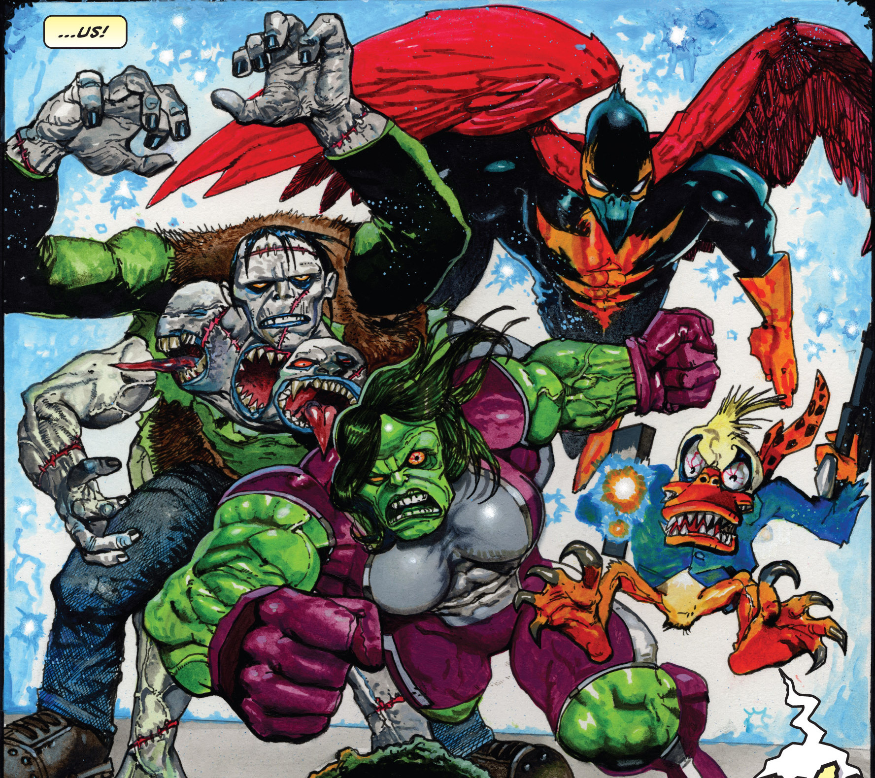 Fearsome Four (Earth-11086)