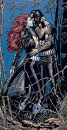 Jean Grey (Earth-616) and James Howlett (Earth-616) from New X-Men Vol 1 117 0001