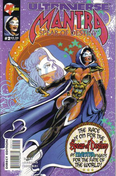 Mantra: Spear of Destiny Vol 1 2