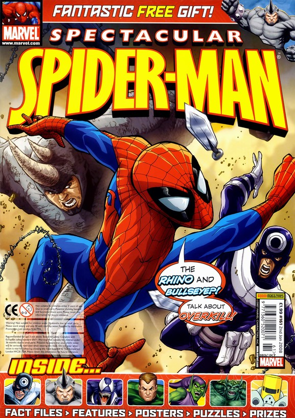 Spectacular Spider-Man (UK) Vol 1 161