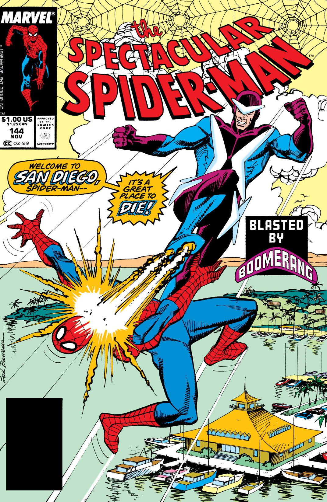 Spectacular Spider-Man Vol 1 144