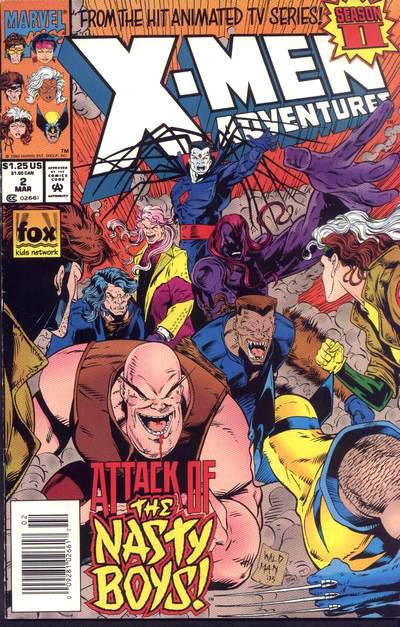 X-Men Adventures Vol 2 2