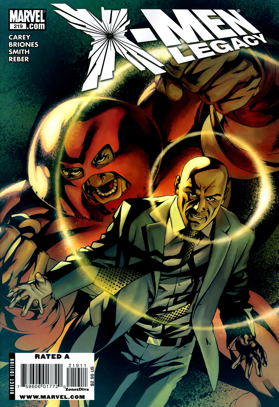 X-Men: Legacy Vol 1 219
