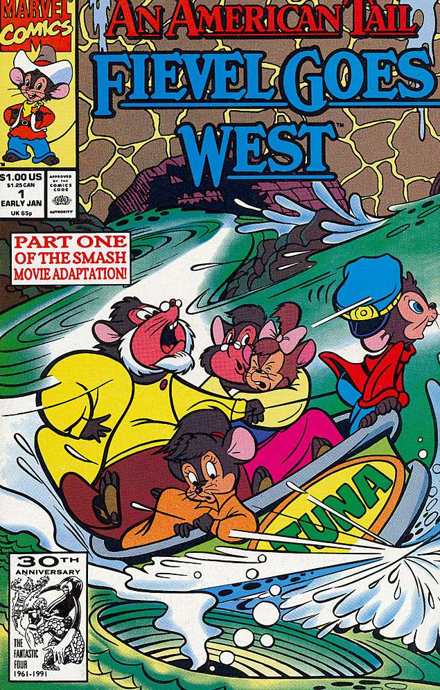 An American Tail: Fievel Goes West Vol 2