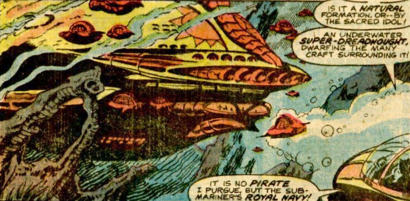 Atlantean Super-Dreadnought