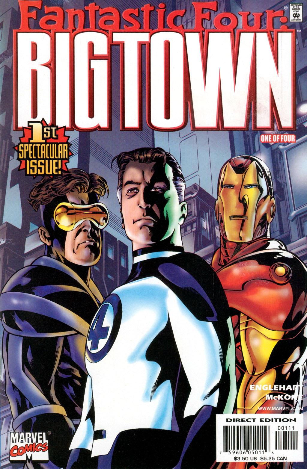 Big Town Vol 1 1