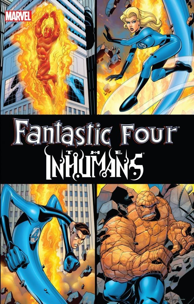 Fantastic Four / Inhumans TPB Vol 1 1