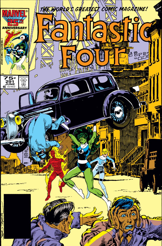 Fantastic Four Vol 1 291
