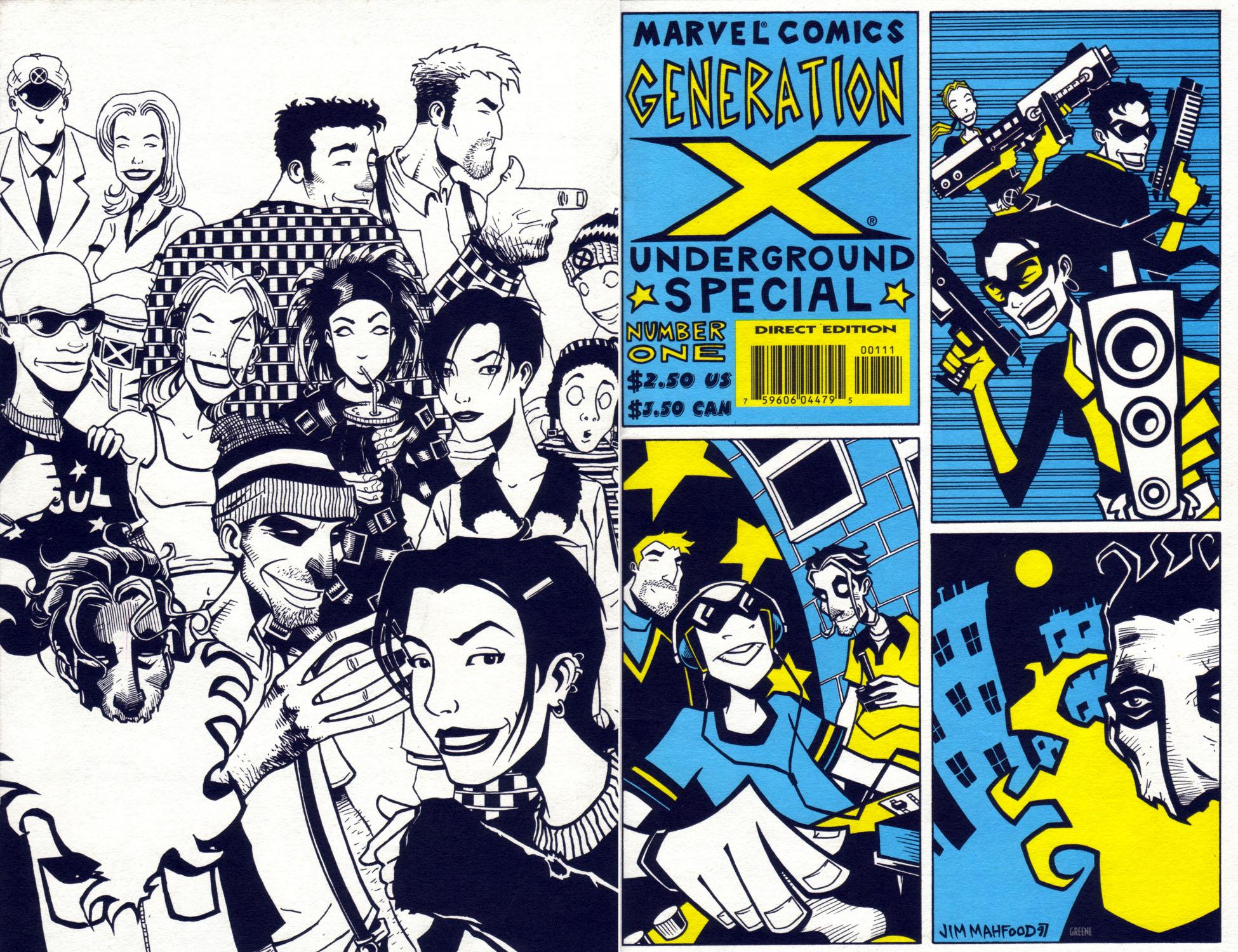 Generation X Underground Vol 1 1