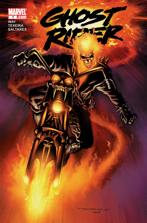 Ghost Rider Vol 6 1