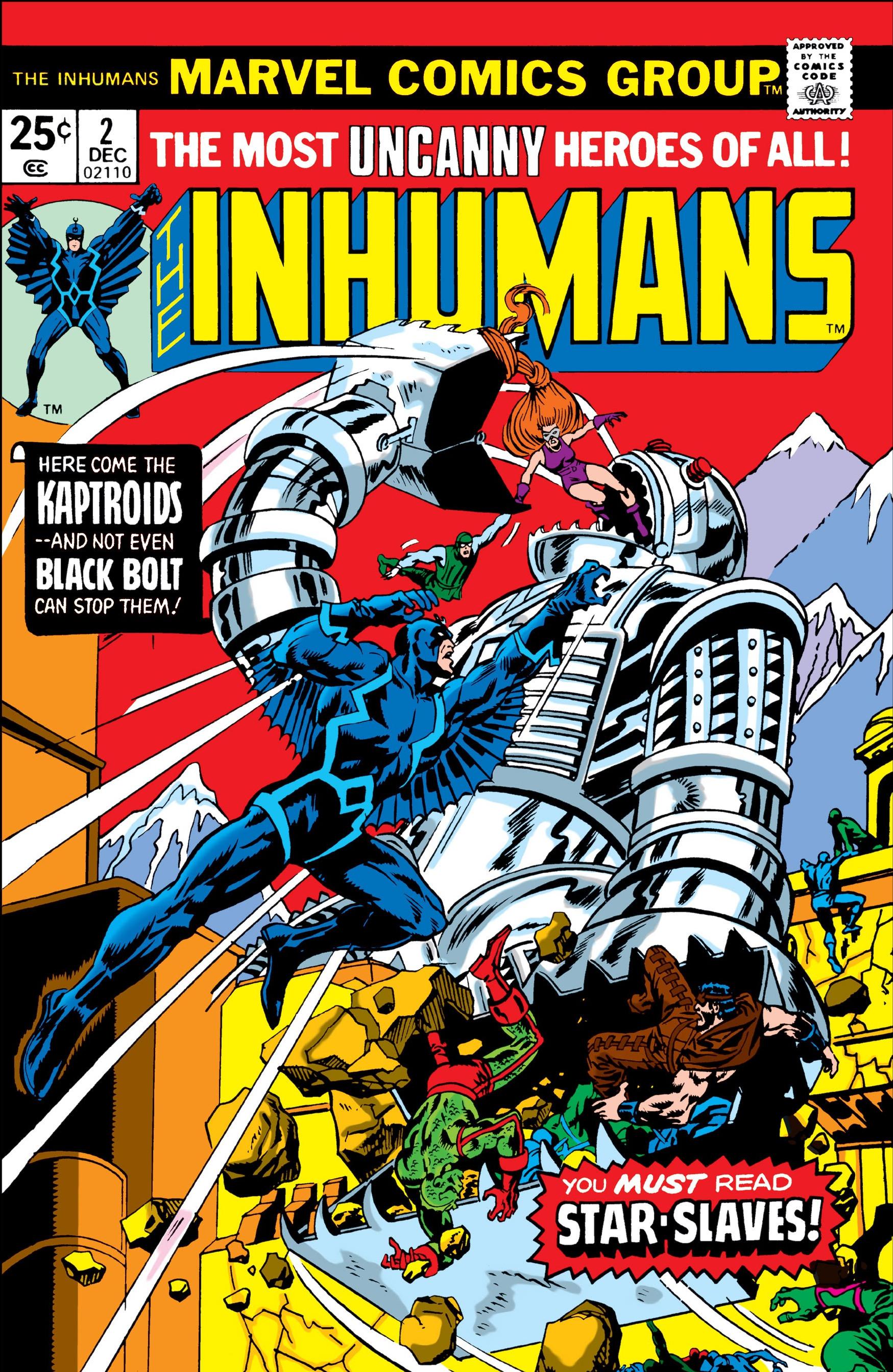 Inhumans Vol 1 2
