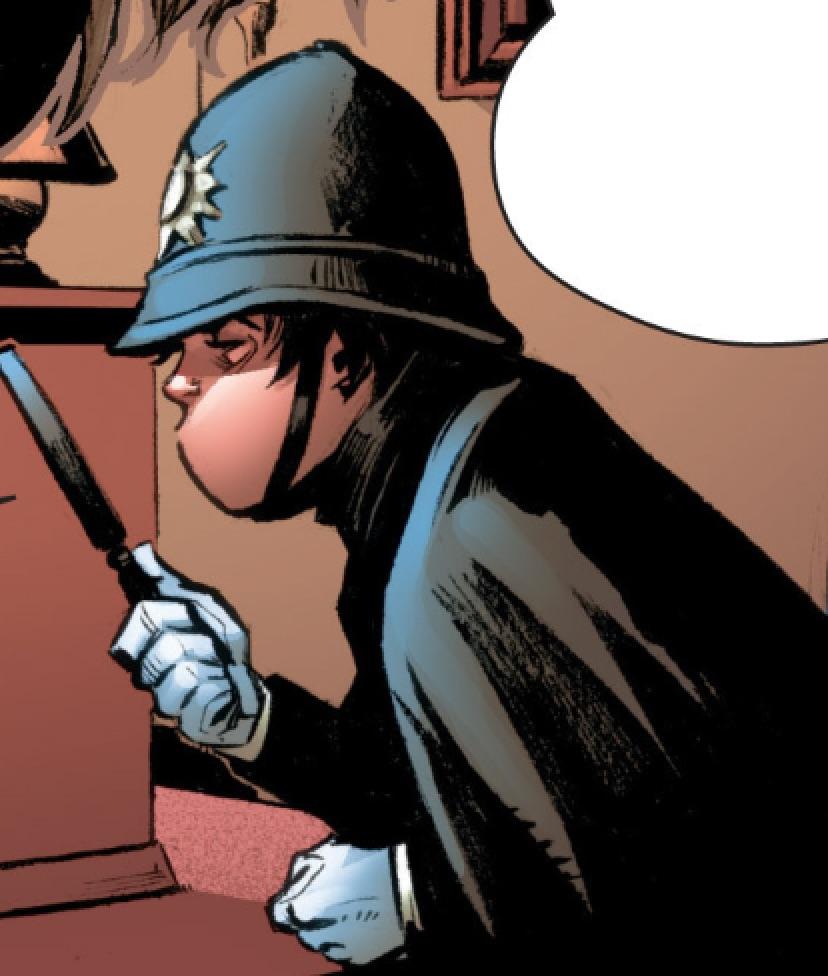 Magical Policeman's Helmet