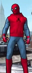 Spider-Man (Homemade Suit) (Peter Parker) from Spider-Man Unlimited (Video Game) 0001.jpg