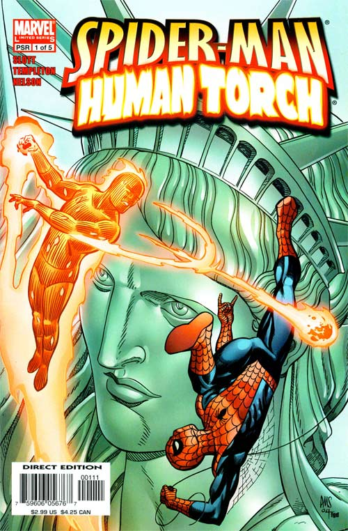 Spider-Man Human Torch Vol 1 1