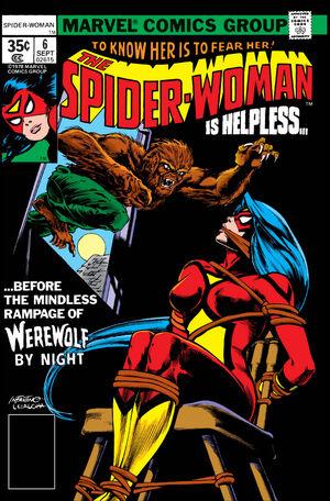 Spider-Woman #6 Headshot Variant