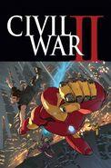Civil War II Vol 1 2 Textless