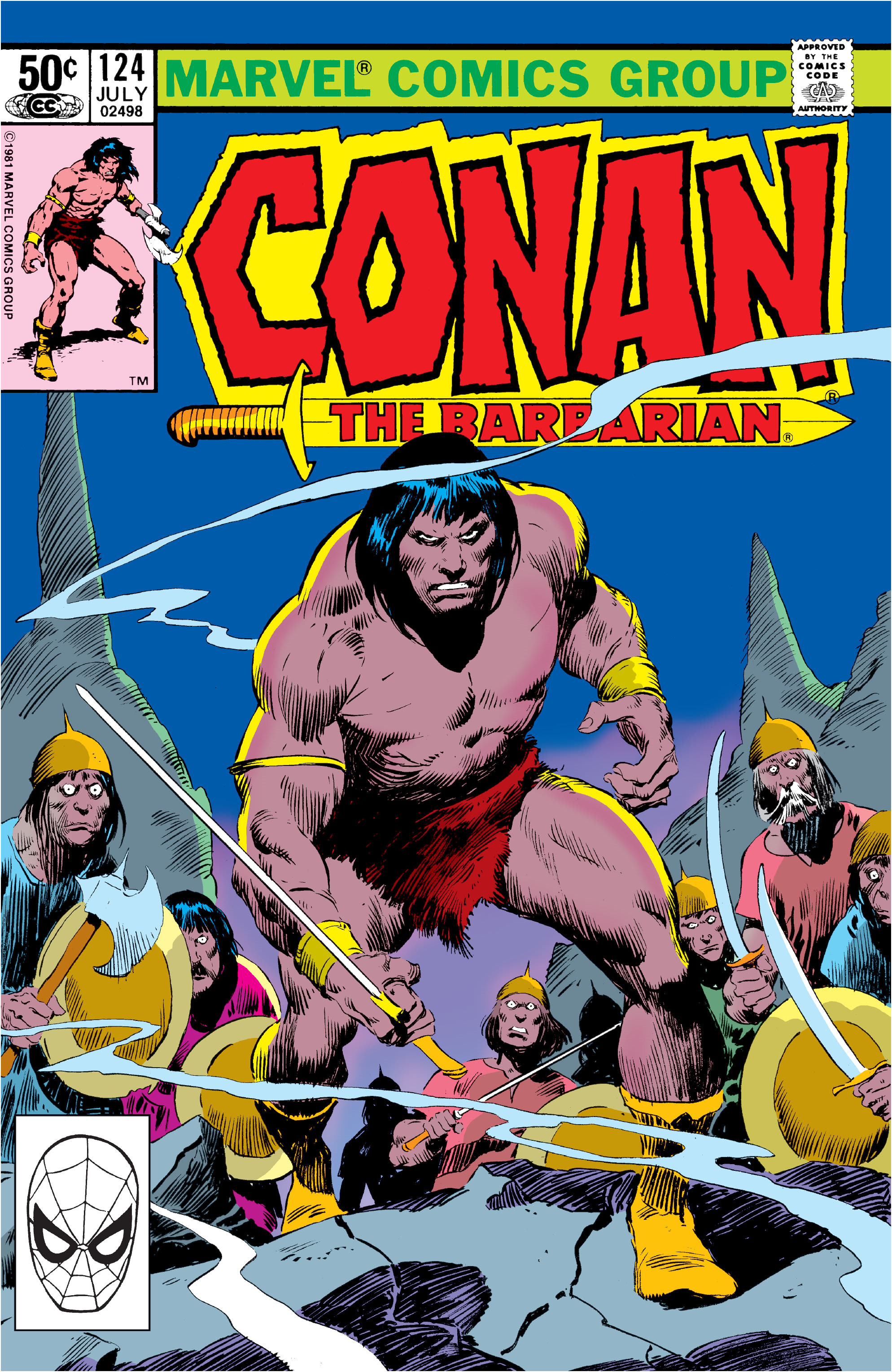 Conan the Barbarian Vol 1 124