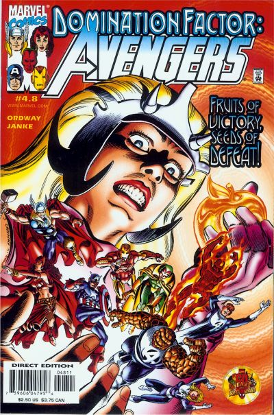 Domination Factor: Avengers Vol 1 4.8