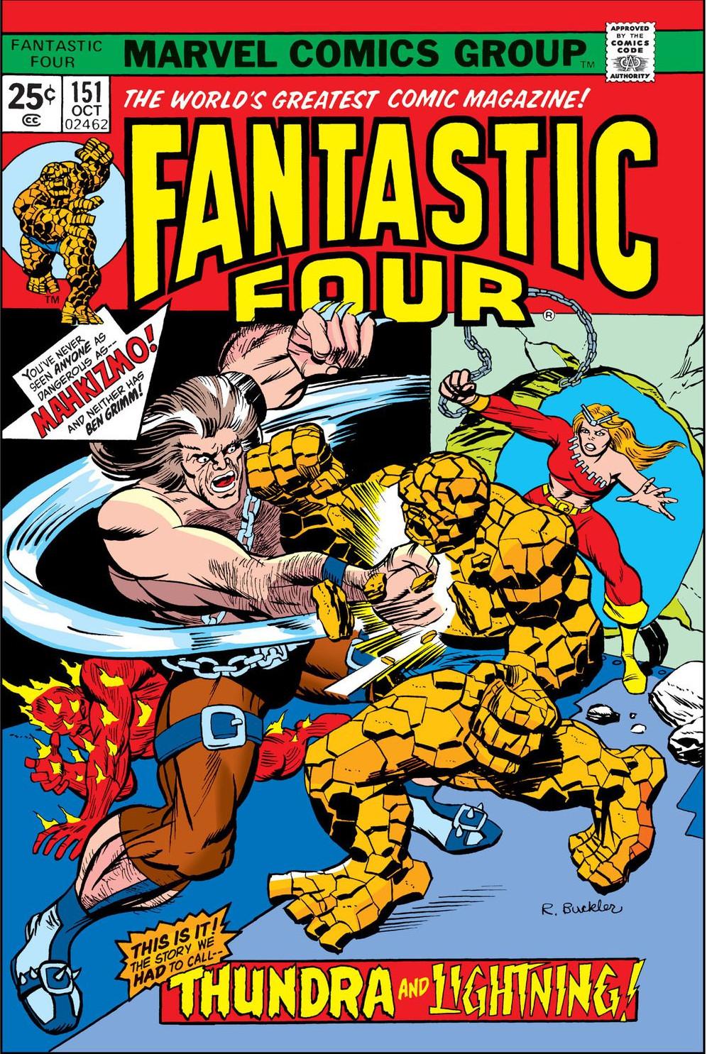 Fantastic Four Vol 1 151