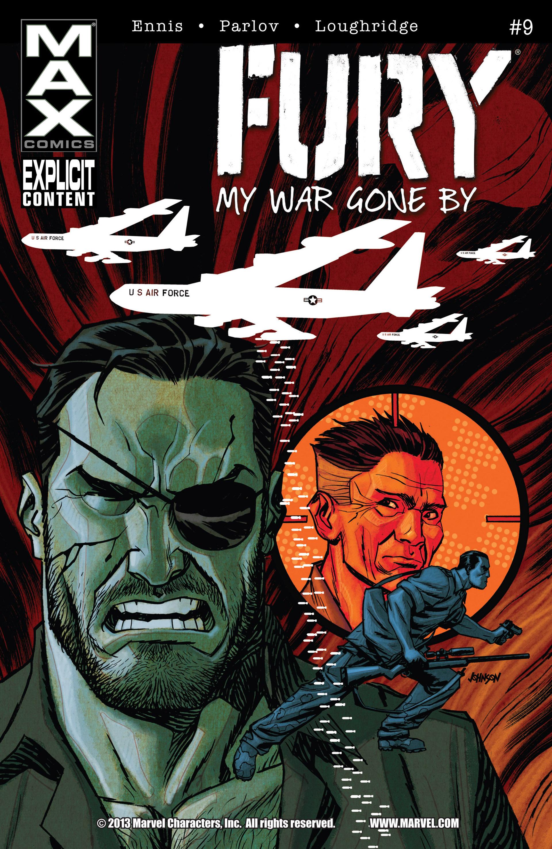 Fury: MAX Vol 1 9