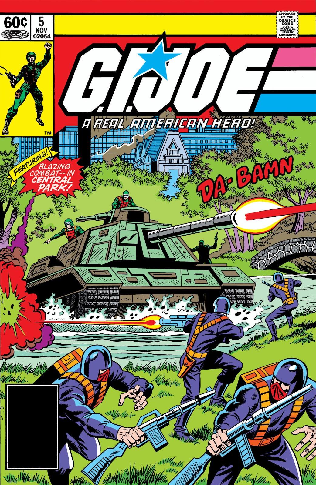 G.I. Joe: A Real American Hero Vol 1 5
