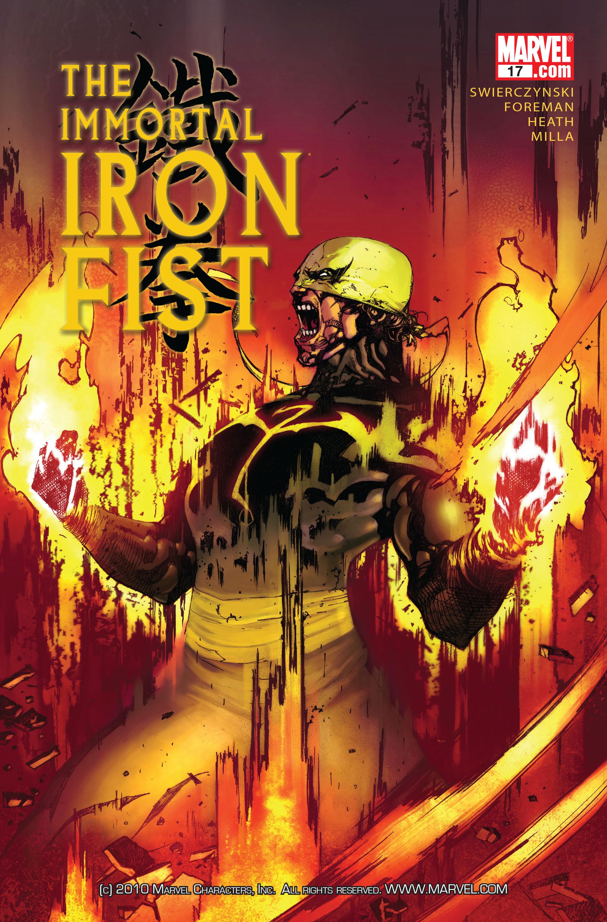 Immortal Iron Fist Vol 1 17