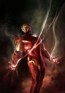 Invincible Iron Man Vol 2 5 Meinerding Variant Textless