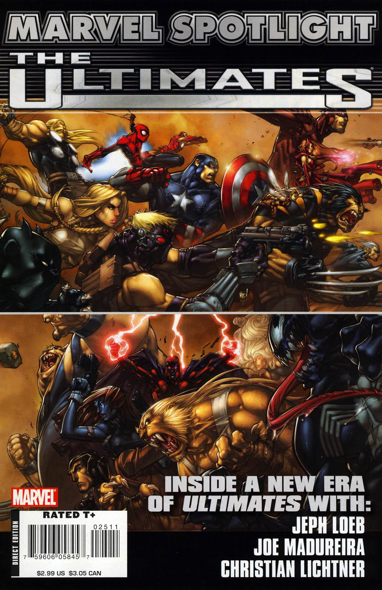 Marvel Spotlight: Ultimates Vol 1 1