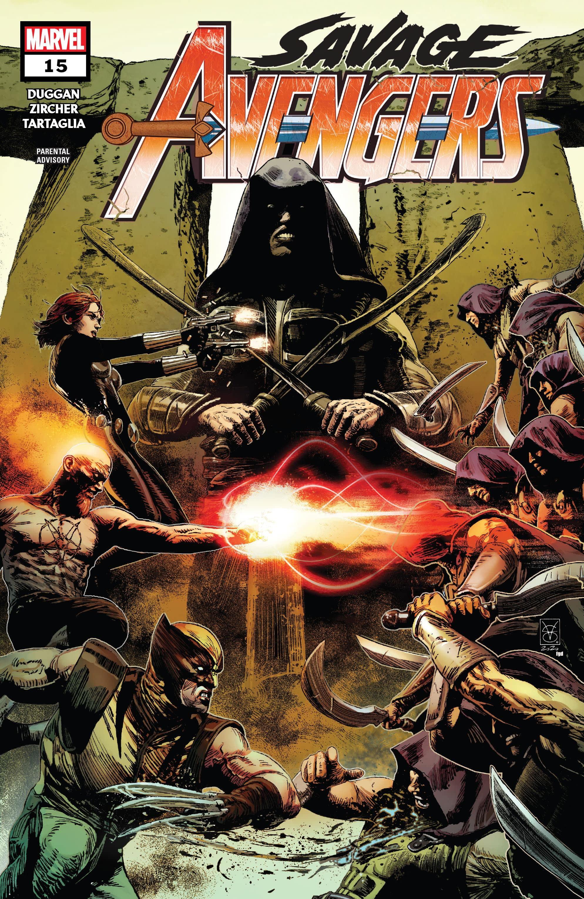 Savage Avengers Vol 1 15