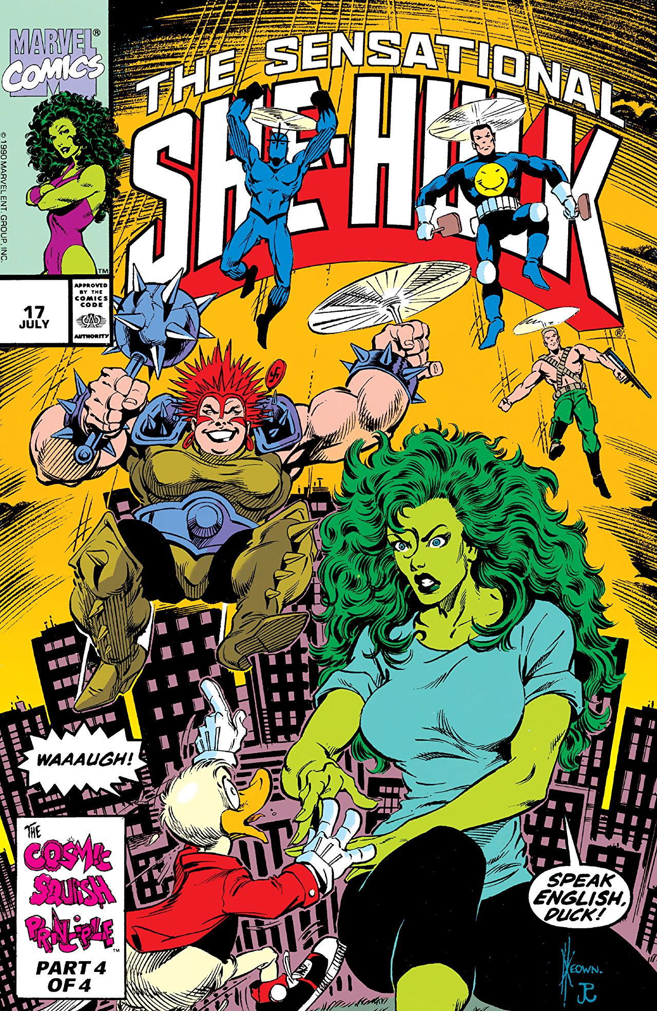 Sensational She-Hulk Vol 1 17