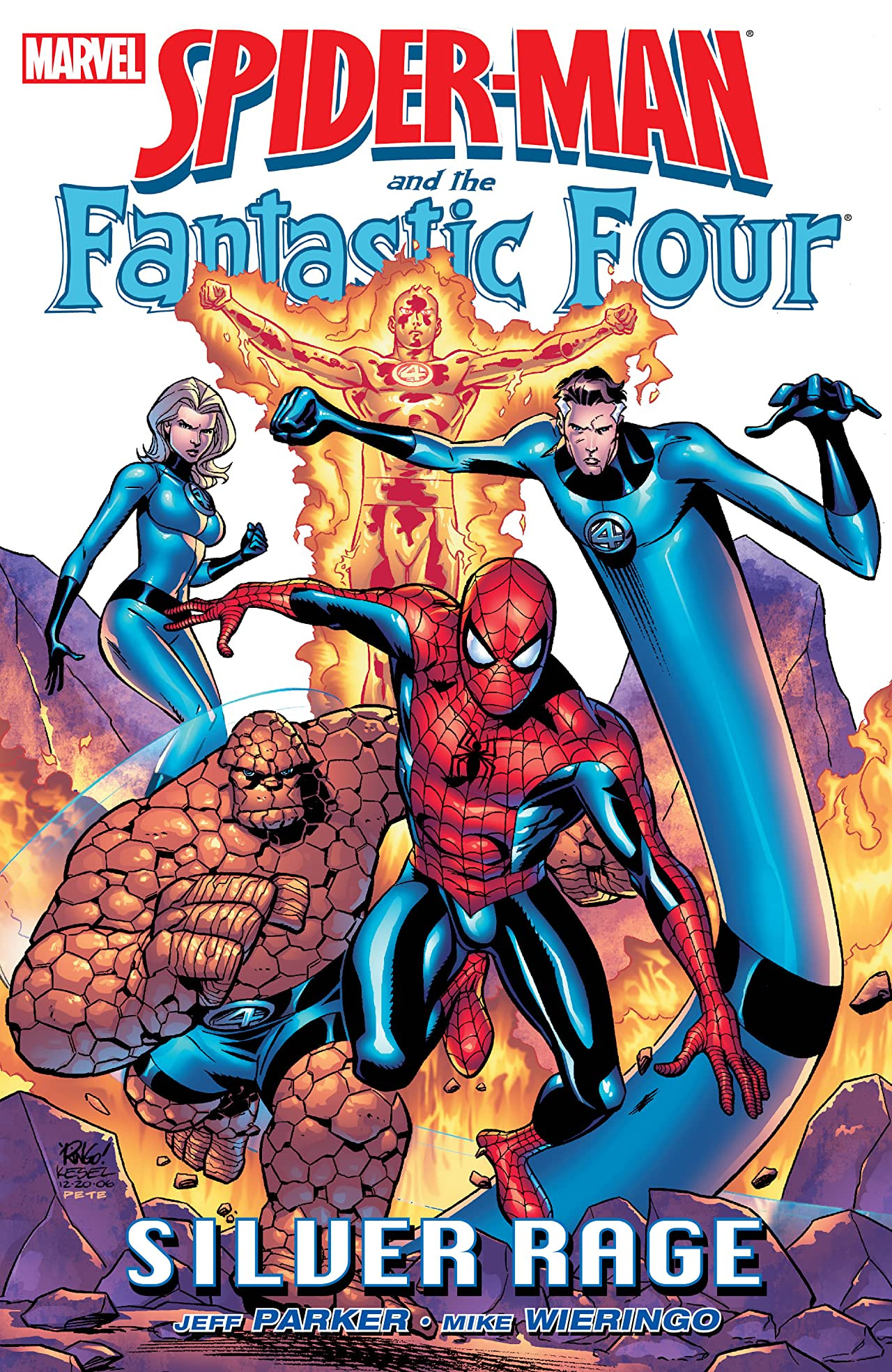 Spider-Man and the Fantastic Four: Silver Rage TPB Vol 1 1