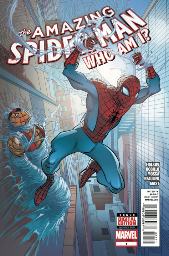 Amazing Spider-Man: Who Am I? Vol 1 1