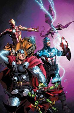 Avengers vs. Pet Avengers Vol 1 1 Textless.jpg