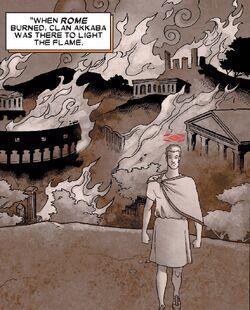 Clan Akkaba (Earth-616) from X-Men Apocalypse vs. Dracula Vol 1 1 002.jpg