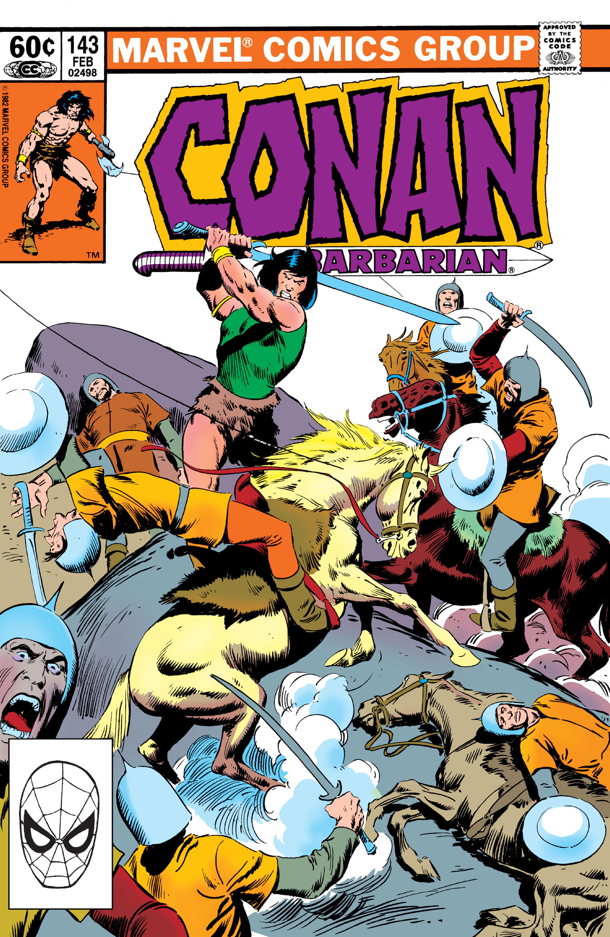 Conan the Barbarian Vol 1 143