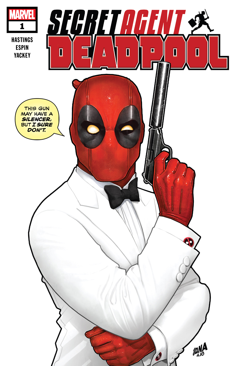 Deadpool: Secret Agent Deadpool Vol 1 1