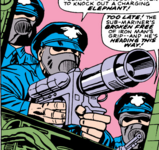New York City Police Department (Earth-616)/Members
