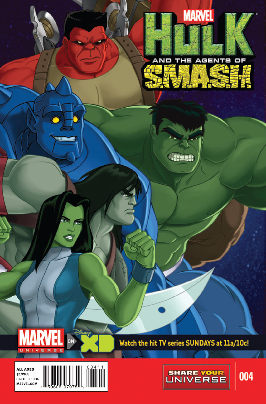 Marvel Universe: Hulk and the Agents of S.M.A.S.H. Vol 1 4
